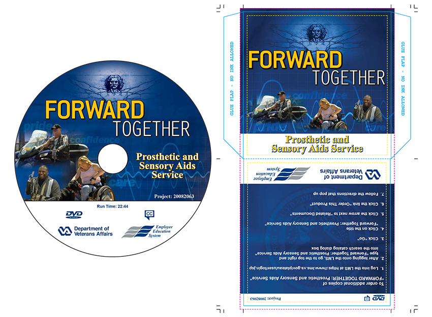 Forward Thinking DVD Label and Jacket